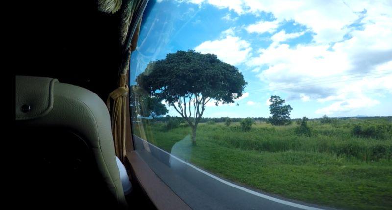 sedang berada dalam bas