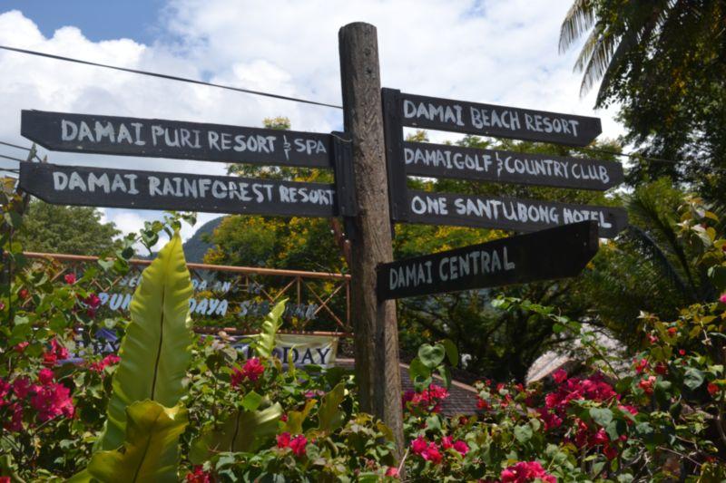 papan tanda 1 sarawak cultural village