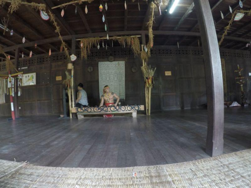 identiti sarawak cultural village