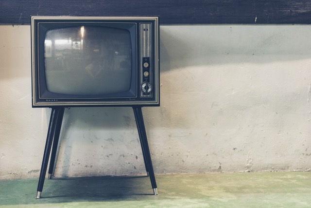 tv hitam putih