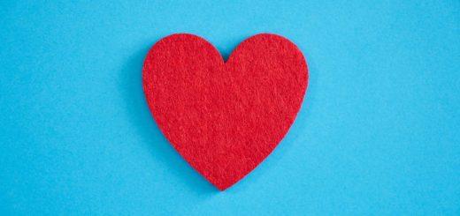 Tanda Hati Merah